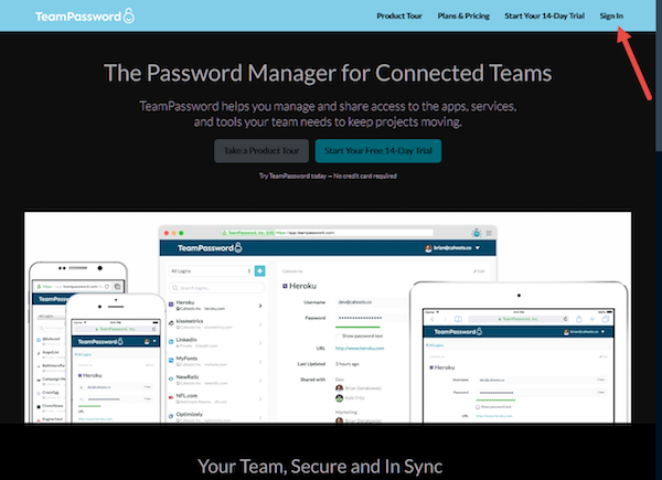 teampassword-signin
