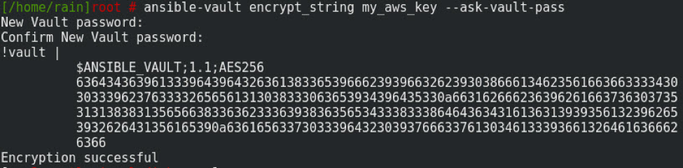 Encrypt Single Variable