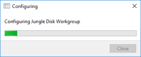 Updating the Jungle Disk Software