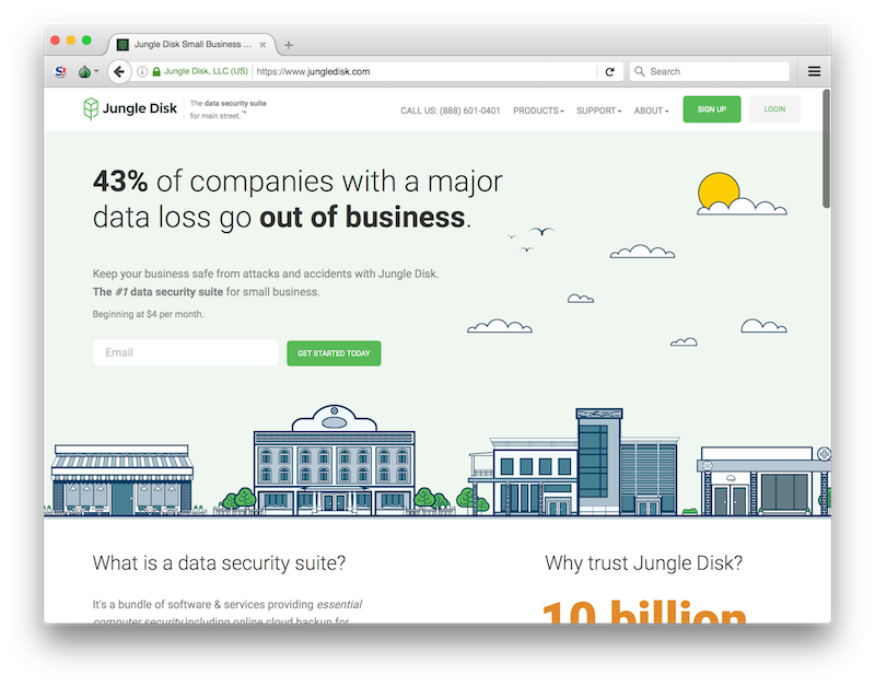 Using Tor Browser to Quality Check Jungle Disk's Website | Jungle